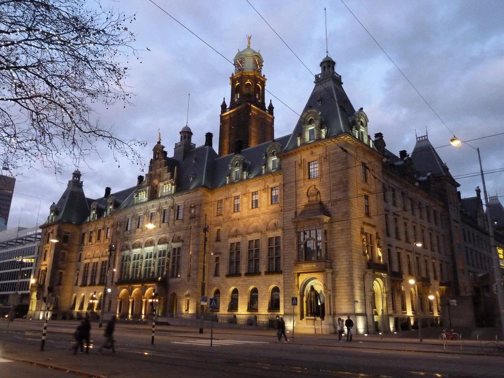 Stadhuis Rotterdam LED verlichting
